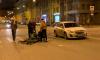 Курьера на велосипеде сбили на Дегтярной улице