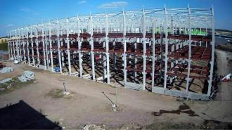 """Компания """"Проект 111"""" возобновляет строительство крупного складского кластера в Петербурге"""