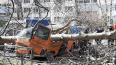 Поваленное ветром дерево раздавило микроавтобус во ...