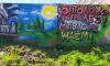 На заборе напротив асфальтобетонного завода в Коломягах появилось граффити