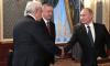 Владимир Путин поблагодарил Полтавченко за годы работы губернатором Петербурга