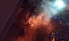 Ford почти полностью сгорел в пожаре на парковке в Пушкине