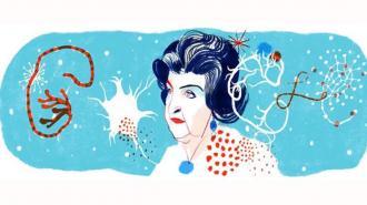 Google выпустил дудл, посвященный ученой Наталье Бехтеревой