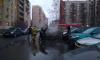 На Маршала Жукова сгорел автомобиль