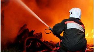 Пожар на «Ленформаше» локализован