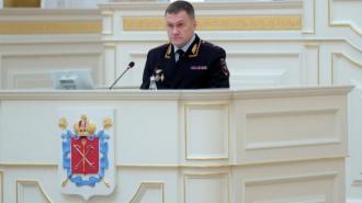 Начальник ГУ МВД Петербурга Плугин отчитается перед парламентом 17 марта