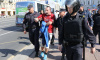 На акциях протеста в Петербурге задержали 8 человек