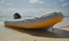 Житель Ленобласти надул чужую лодку и пытался уплыть от сотрудников Росгвардии
