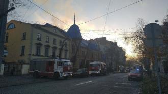 На Васильевском острове горел особняк Форостовского