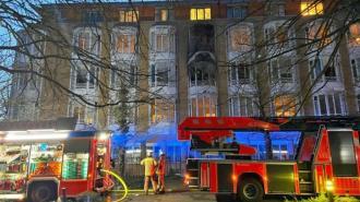В Берлине при пожаре в больнице погиб человек