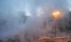 Пар заволок танкиста: в Петербурге на улице Танкиста Хрустицкого прорвало трубу
