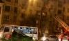 Из-за пожара в жилом доме у площади Калинина собираются пробки