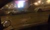 """""""Бомбануло"""": в Петербурге самосвал забрызгал цементом дорогие иномарки"""