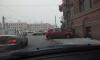 Гламурная автоледи на Suzuki влетела в дом на Лермонтовском проспекте
