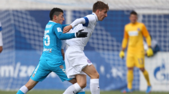 Аустрия разгромила Зенит в юношеской лиге УЕФА