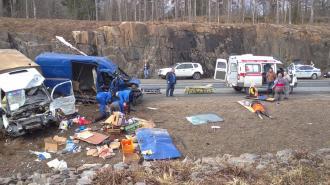 """Трое погибли и трое пострадали в страшном ДТП на трассе """"Сортавала"""""""