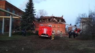 В Тамбове после частичного обрушения здания спасли двух человек