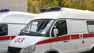 Под Петербургом погиб пассажир загоревшейся после ДТП иномарки