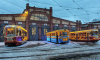 За новогодние праздники петербургские трамваи и троллейбусы перевезли 3,6 млн пассажиров