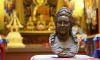 Буддийская община Петербурга передала копию бюста Екатерины II бурятскому Анинскому дацану