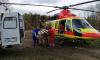 Вертокрылая скорая в Ленобласти спасла четырех тяжелых пациентов за выходные