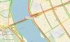 BMW четко протаранила пешеходный тоннель у моста Александра Невского