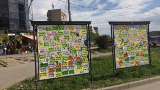 Выборгский район лидирует по количеству рекламы борделей