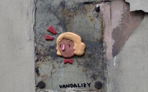 """Уличная художница VandaLizy: """"Стрит-арт – свободная галерея, а зрители – прохожие"""""""