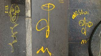 """Уличный художник alesha: """"Создаю стрит-арт, потому что руки чешутся"""""""