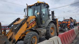 Ремонт Литейного моста планируют завершить к 7 мая