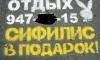 Расходы по уничтожению рекламы борделей лягут на бюджет Петербурга