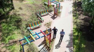 В Сертолово обустроили 2 новых общественных пространства