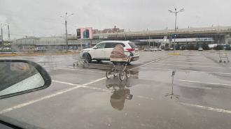 Очевидцы на Савушкина обнаружили пустую коляску