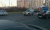 Mitsubishi сбил пешехода на переходе Московского шоссе: пострадавшего реанимируют