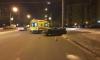 Daewoo Nexia влетел в столб линии электропередач на перекрестке Ленинского и Кузнецова