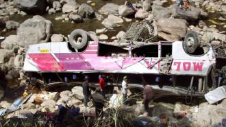 В Индии автобус упал в ущелье с высоты 180 метров, погибли 19 человек