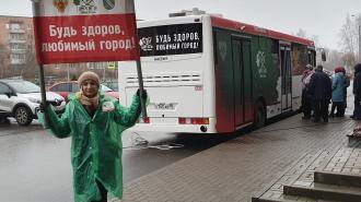 В Сосновом Бору протестируют пункт мобильной вакцинации от коронавируса