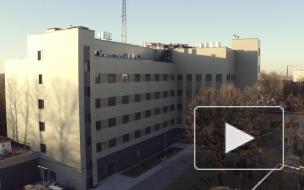 Как строили новый диагностический корпус Госпиталя для ветеранов войн в Петербурге