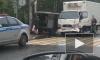 В Сертолово грузовик протаранил военный УАЗ