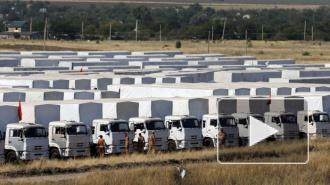Новости Украины: третий гуманитарный конвой прибыл в Донецк