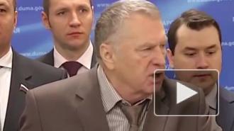 """В Страстную пятницу Жириновский с криком """"Христос воскрес!"""" требовал изнасиловать беременную журналистку. Видео вызвало грандиозный скандал"""