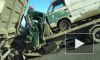 Санкт-Петербург: На КАД в массовой аварии погиб водитель эвакуатора