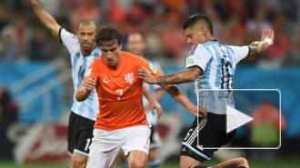 Голландия обыграла Бразилию в матче за третье место ЧМ-2014
