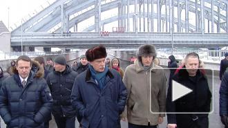 Как Полтавченко открывал движение по Обводному