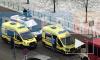 В результате пожара на улице Бадаева пострадали двое детей