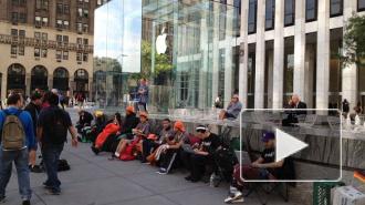 iPhone 6: фанаты Apple выстроились в очереди за 2 недели до старта продаж