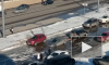 Видео: на Богатырском появилась лужа с сюрпризом