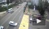 Камера сняла ужасную аварию с мотоциклистом в Сочи