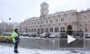 Снегопад в Петербурге: город стоит в пробках из-за массовых аварий
