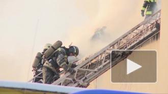 Пожар на Якорной улице тушили по повышенному номеру сложности